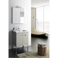 New York 2 23 Single Bathroom Vanity Set with Mirror by ACF Bathroom Vanities