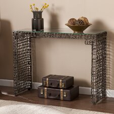 Akersville Console Table by World Menagerie