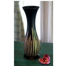 Signs of Life Mango Wood Vase