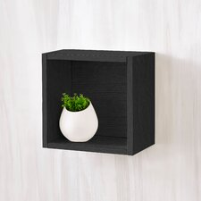 """Andrade Eco Decorative Wall Shelf 11.2"""" Cube Unit Bookcase"""