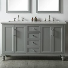 60 Double Vanity Set by Legion Furniture