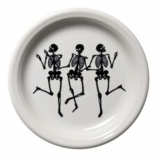 "Trio of Skeleton 6.63"" Appetizer Plate"