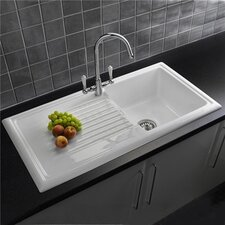 101.5cm x 52.5cm Inset Kitchen Sink