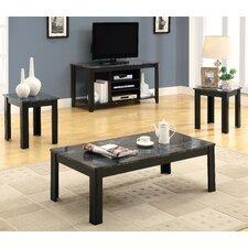 3 Piece Coffee Table Set by Monarch Specialties Inc.