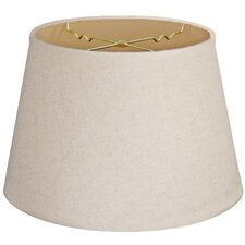 "Timeless Tapered 14"" Linen Empire Lamp Shade"