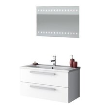 Dadila 34 Single Bathroom Vanity Set with Mirror by ACF Bathroom Vanities