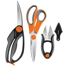 4 Piece Kitchen Shear Set