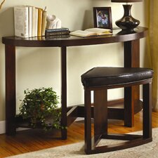 Cristel 2 Piece Console Table with Stool Set by Hokku Designs