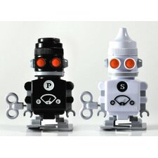 2 Piece Salt and Pepper Bot Set