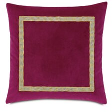 Tresco Plush Raspberry Fabric Indoor Throw Pillow