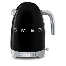 50s Style 1.75-qt. Stainless Steel Variable Temperature Tea Kettle