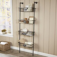 4-Tier Wire Basket Wall Shelf by Birch Lane™