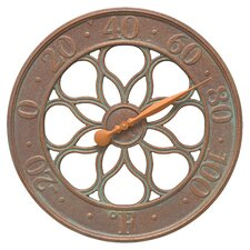 Medallion Indoor/Outdoor Wall Thermometer