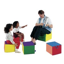Primary Child Comfy 4 Piece Soft Seating (Set of 4)