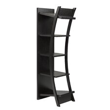 70 Accent Shelves Bookcase by Brassex
