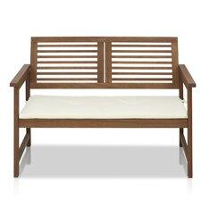 Juna Meranti Garden Bench with Cushion