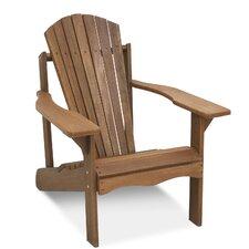 Juna Teak Hardwood Adirondack Patio Chair