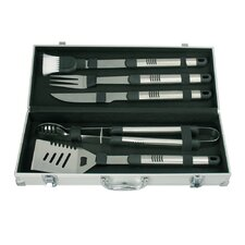 5 Piece Stainless Steel Barbecue Tool Set