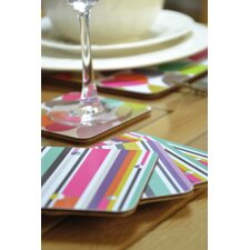 Linear Coasters (Set of 4)