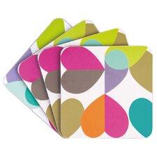 Brokenhearted Coasters (Set of 4)
