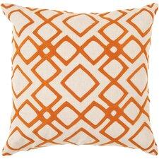 Baumgart Diamond 100% Linen Throw Pillow Cover