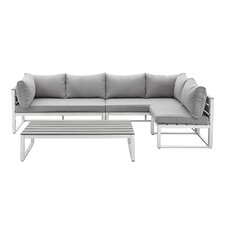 Winifred Sofa Deep Seating Group with Cushions