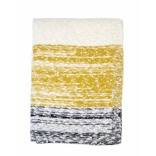 Thick and Thin Stripe Cotton Throw