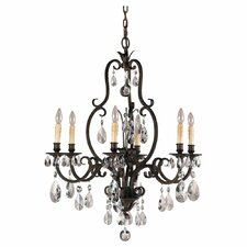 Salon Ma Maison 6-Light Crystal Chandelier