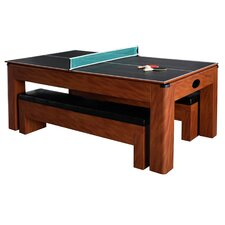 Sherwood 7' Air Hockey with Table Tennis