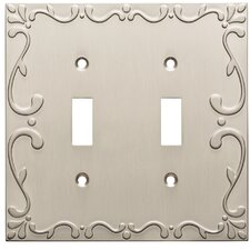 Classic Lace Double Switch Wall Plate