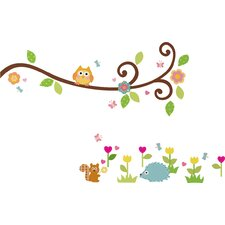 Studio Designs Happi Scroll Branch Wall Decal