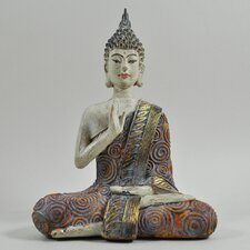 Buddha Colourful Sitting Figurine