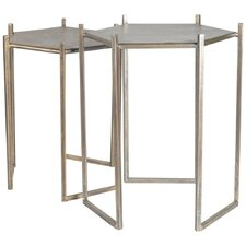 Galeca 2 Piece Nesting Tables by Mercana