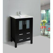 "Vines 24"" Single Bathroom Vanity Set"