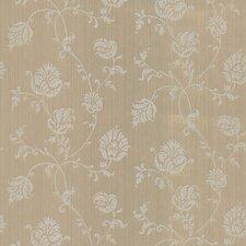"33' x 20.5"" Isabel Jacobean Floral Trail Wallpaper"