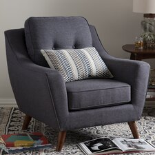 Baxton Studio Mercede Upholstered Armchair by Wholesale Interiors