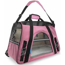 Pet Carrier with Fleece Bed Airline Approved