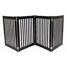 Amish Handcrafted 4 Panel Free Standing EZ Gate