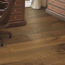 Arbordale Random Width Engineered Oak Hardwood Flooring in Caramel