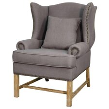 Ellery Fabric Armchair by New Pacific Direct
