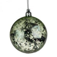 Flecked Shatterproof Ball Ornament (Set of 12)