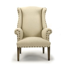 Wing Back Arm Chair by Zentique Inc.