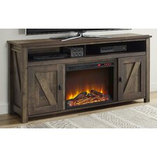"""Gilby 60"""" TV Stand with Electric Fireplace"""