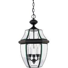 Saddler 3-Light Outdoor Hanging Lantern