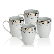 Gatsby 4 Piece Mug Set (Set of 4)
