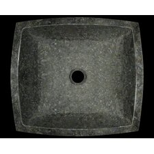 Butterfly Granite Square Vessel Bathroom Sink