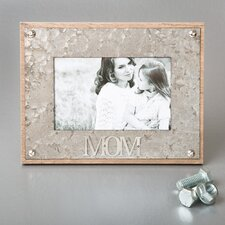 Mom Metal Picture Frame