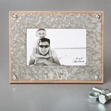 Dad Metal Picture Frame