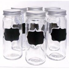Chalkboard Spice Jars (Set of 6)