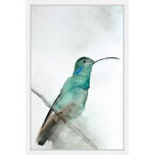 'August Bird' by Christine Lindstrom Framed Painting Print